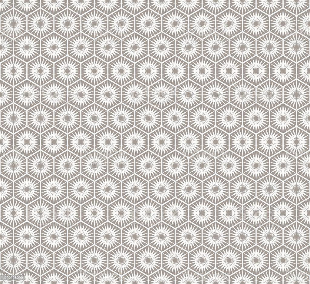 Art Deco seamless vintage wallpaper pattern vector art illustration
