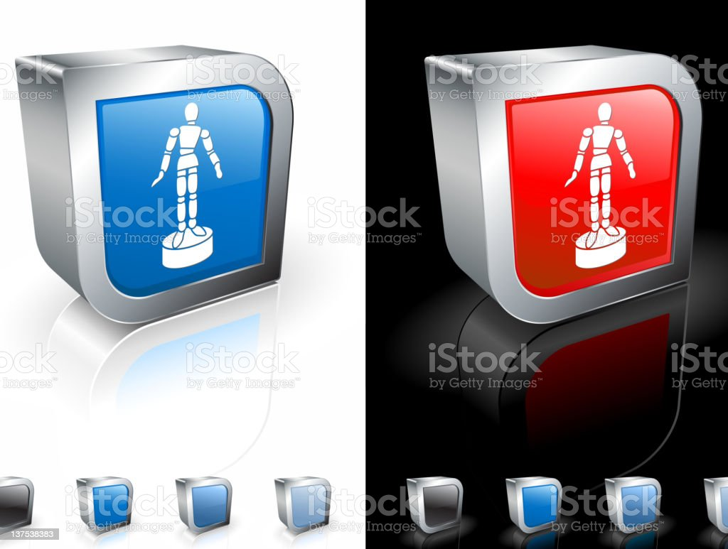 art mannequin 3D royalty free vector art royalty-free stock vector art