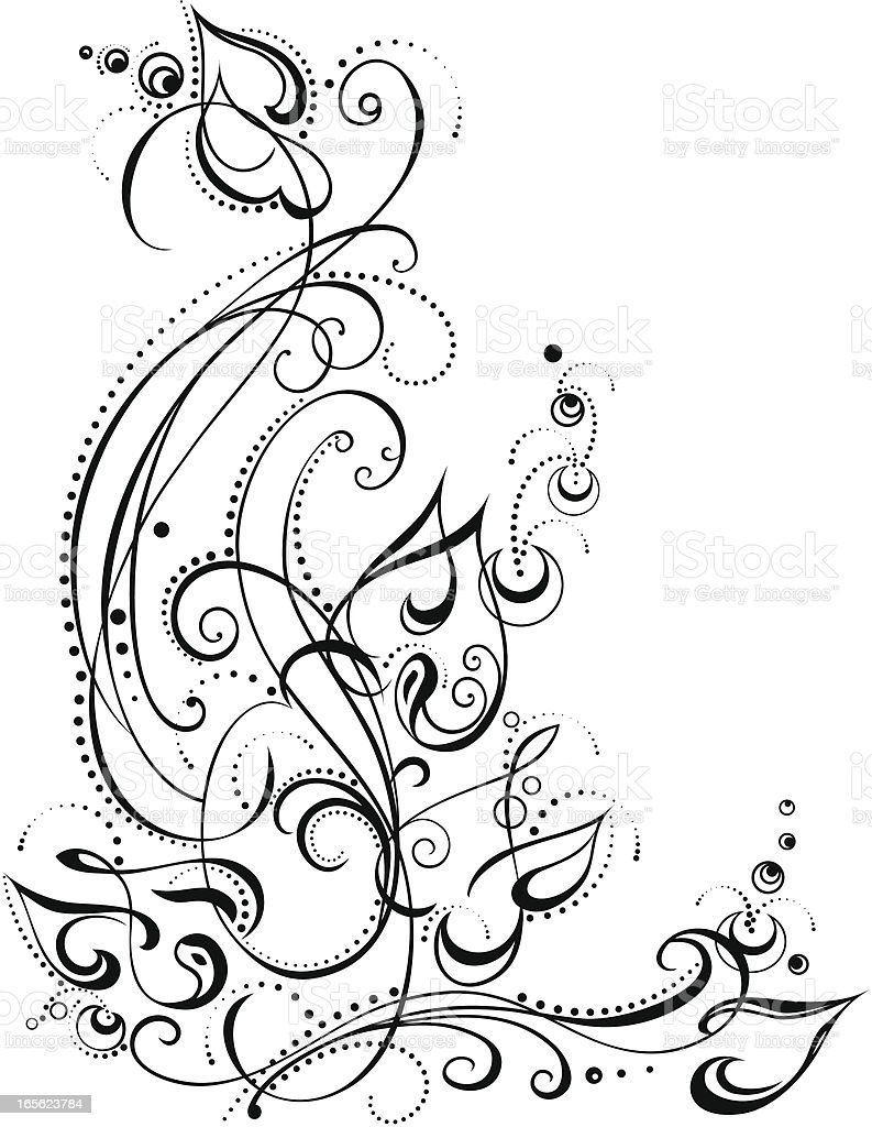 art plant royalty-free stock vector art