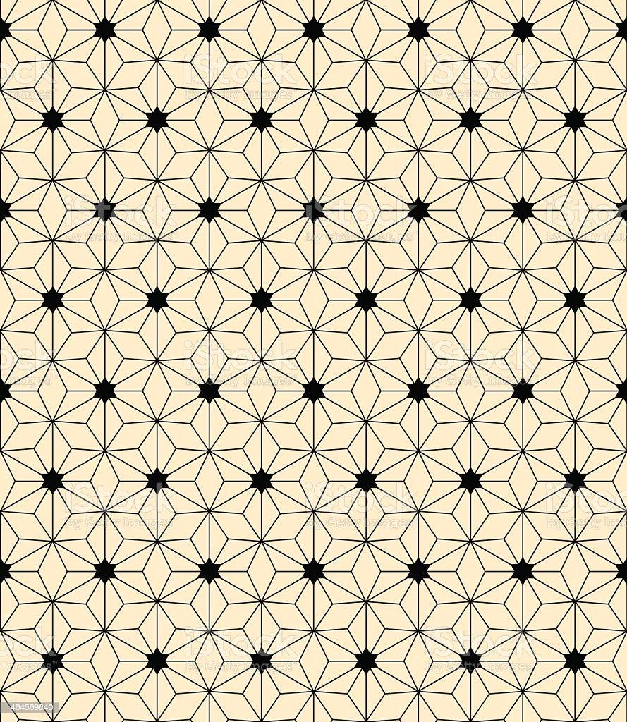 artdeco pattern vector art illustration