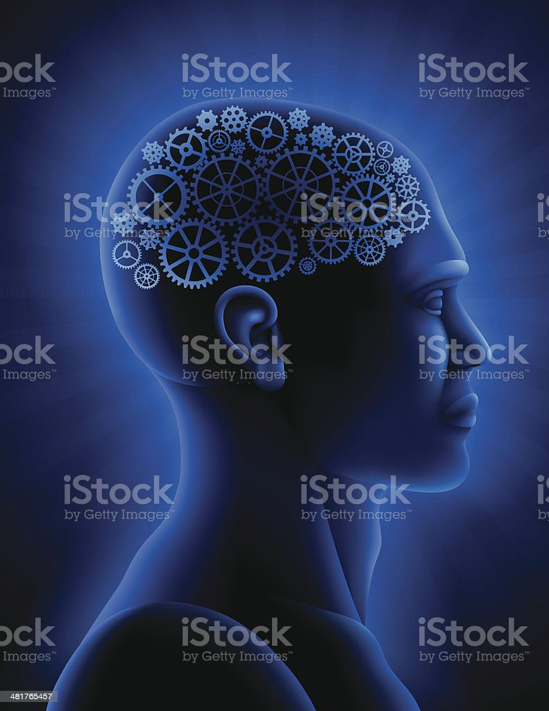 Artificial Intelligence royalty-free stock vector art