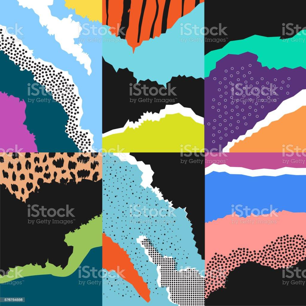 Artistic background.Modern graphic design. vector art illustration