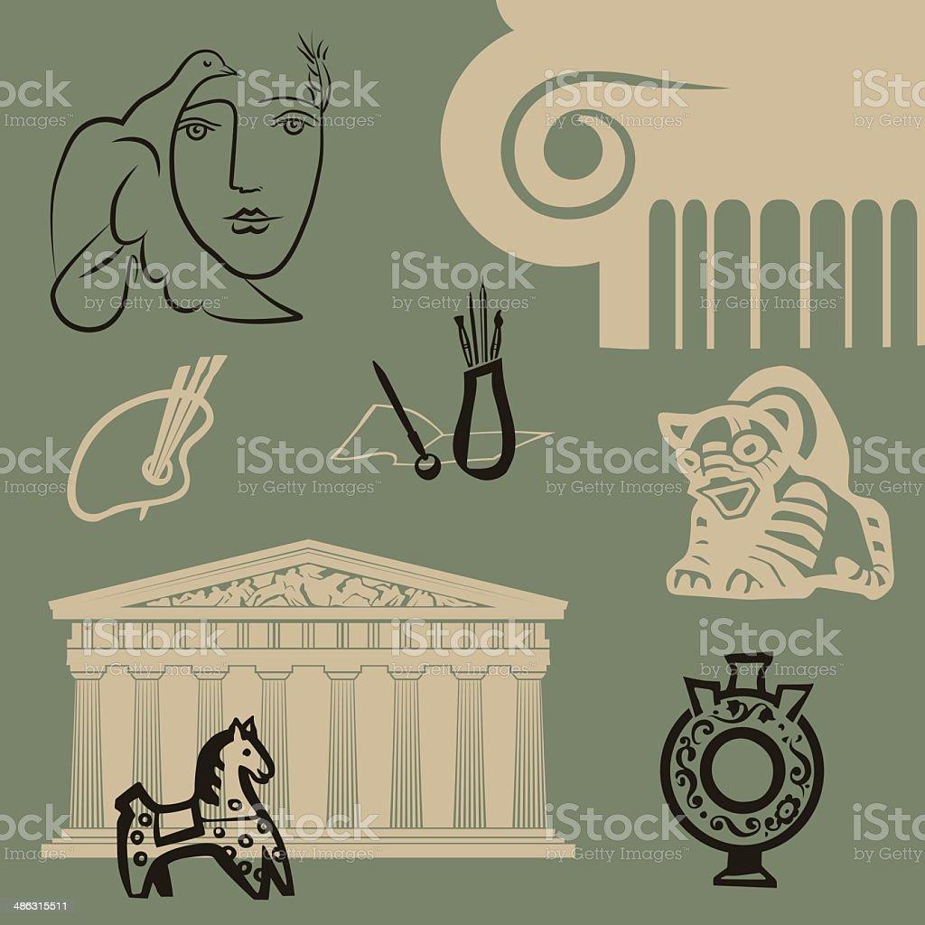 Arts royalty-free stock vector art