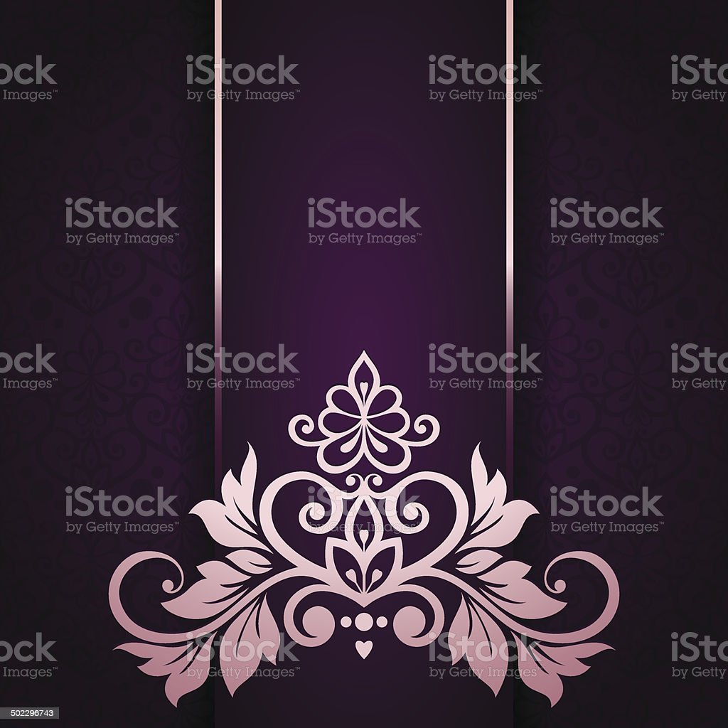 Asian tradition art pattern cover design. - Illustration vector art illustration