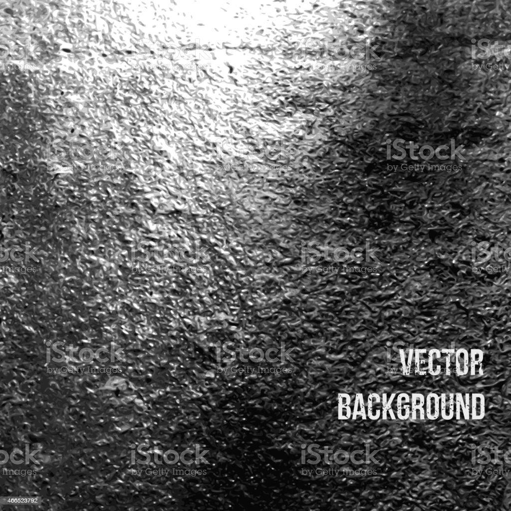 Asphalt as abstract background. Vector Illustration vector art illustration