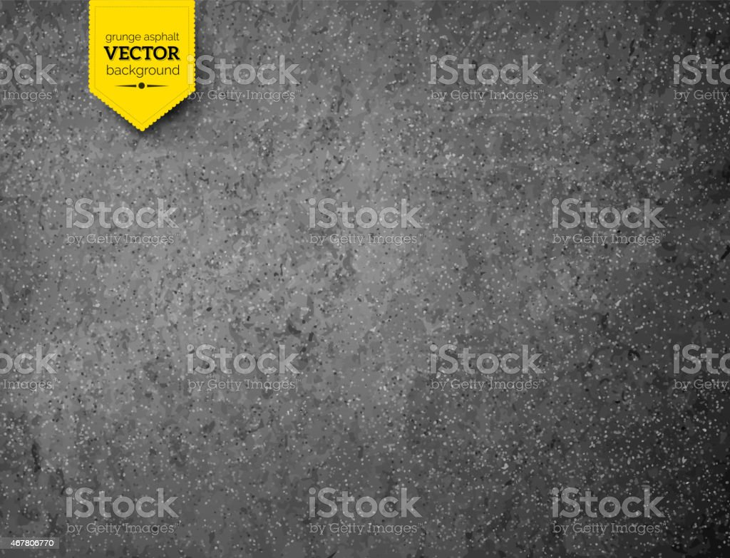 Asphalt texture. vector art illustration
