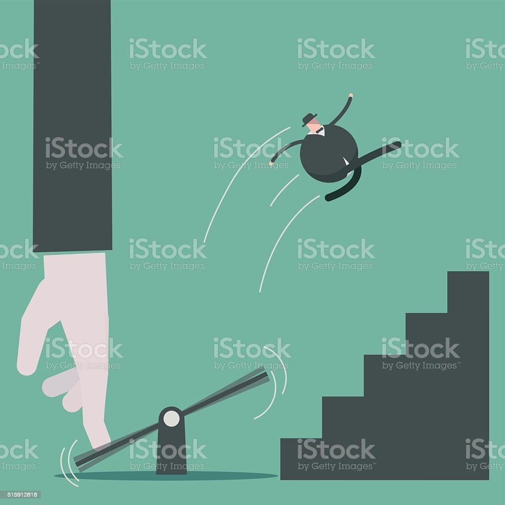 assistance vector art illustration