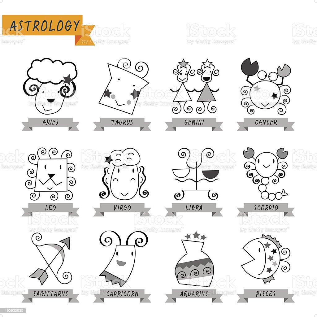 Astrology royalty-free stock vector art