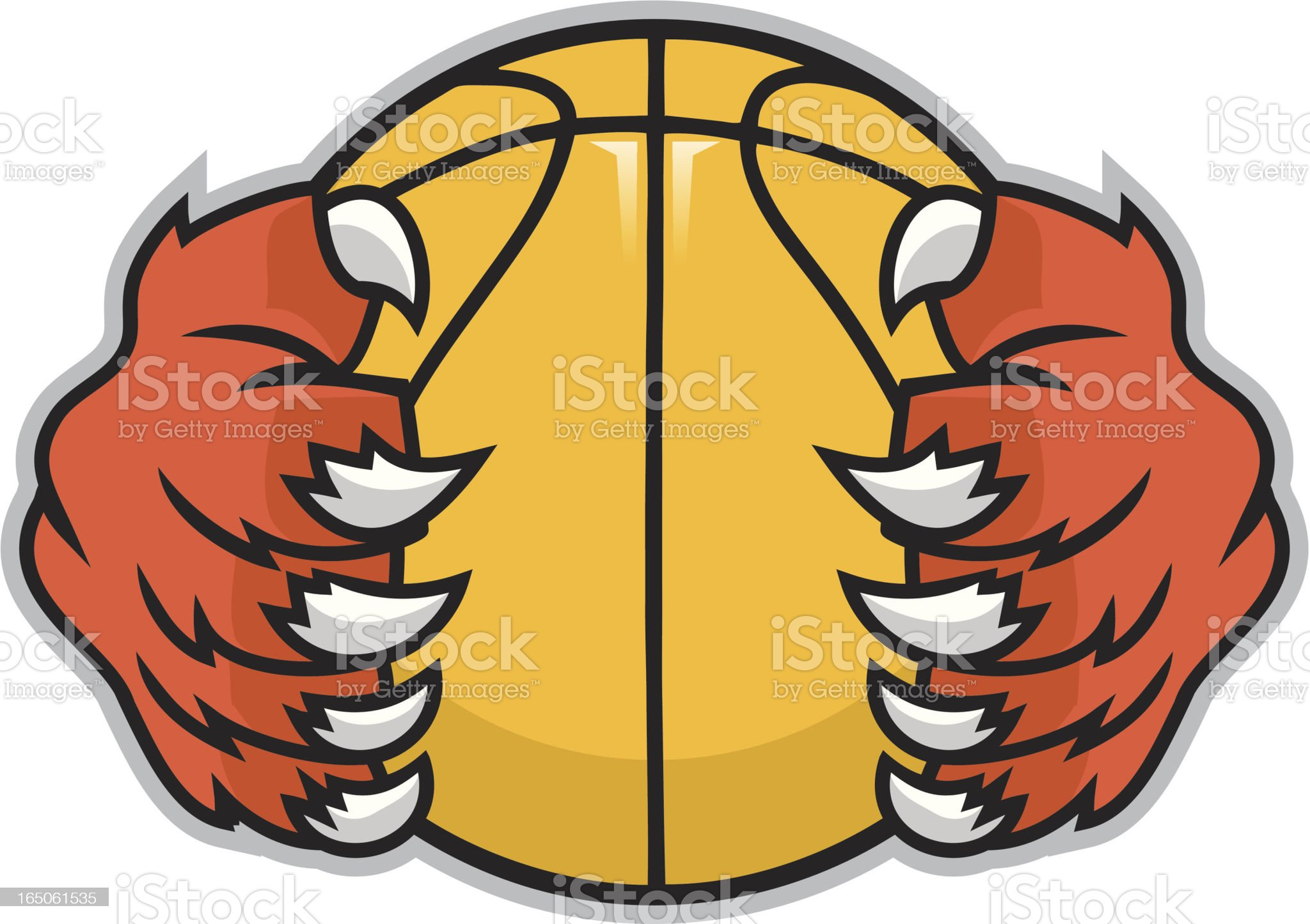 Athletic Paws royalty-free stock vector art