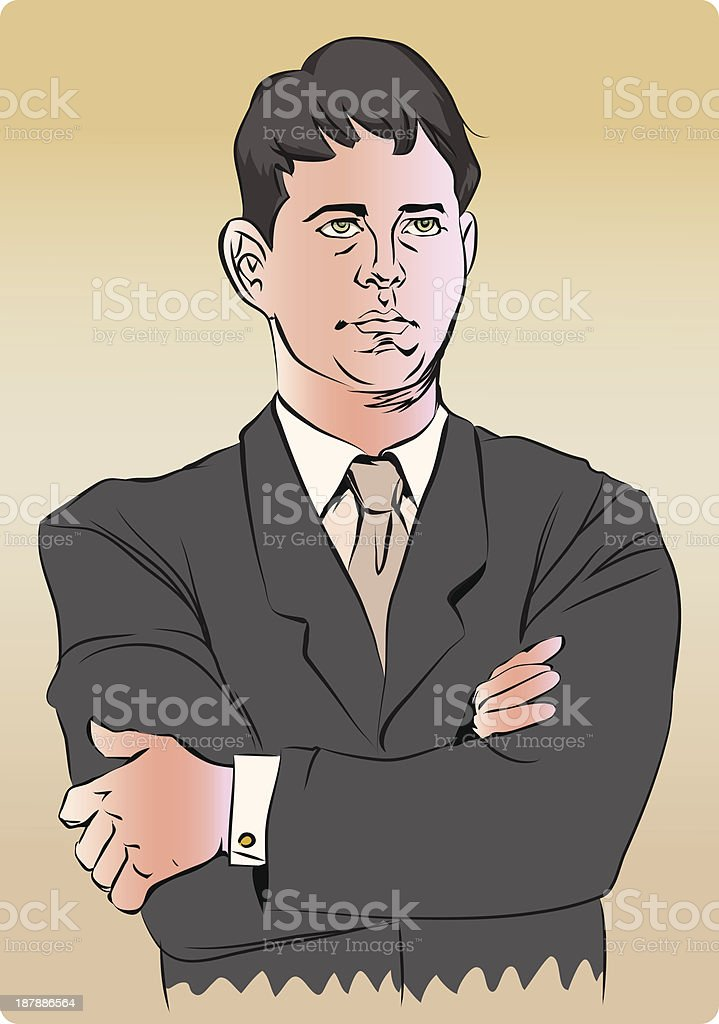 attitude royalty-free stock vector art