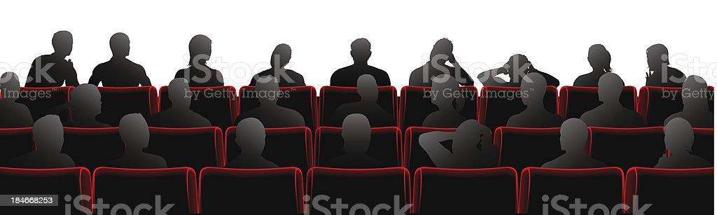 Audience illustration vector art illustration