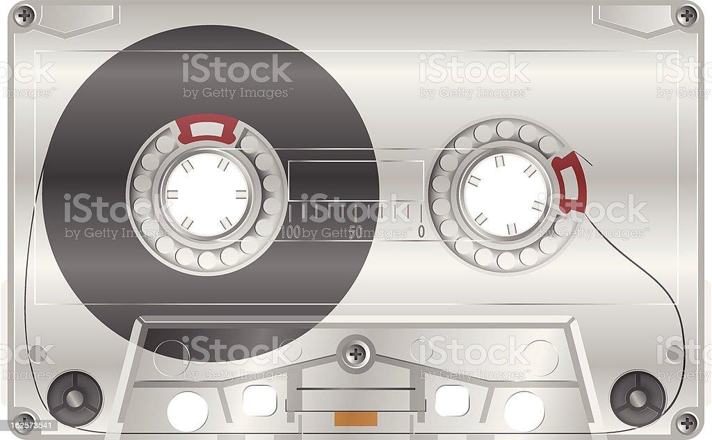 Audio Casette eps10 royalty-free stock vector art