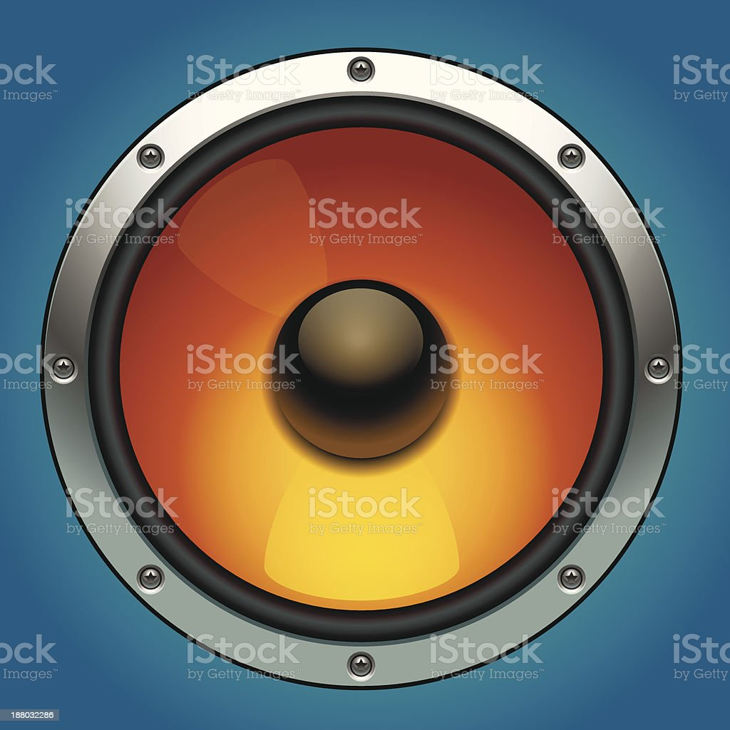audio speaker royalty-free stock vector art