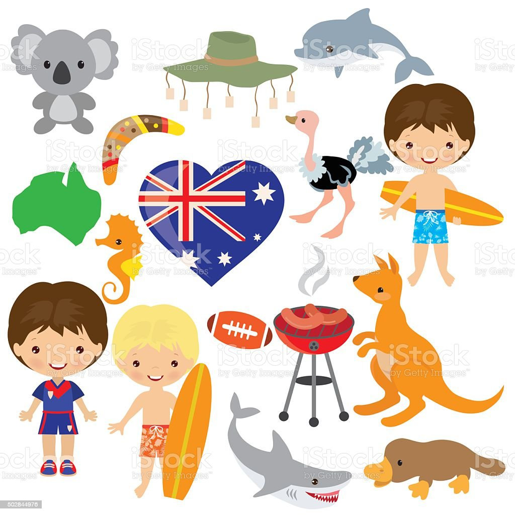 Australia vector illustration vector art illustration