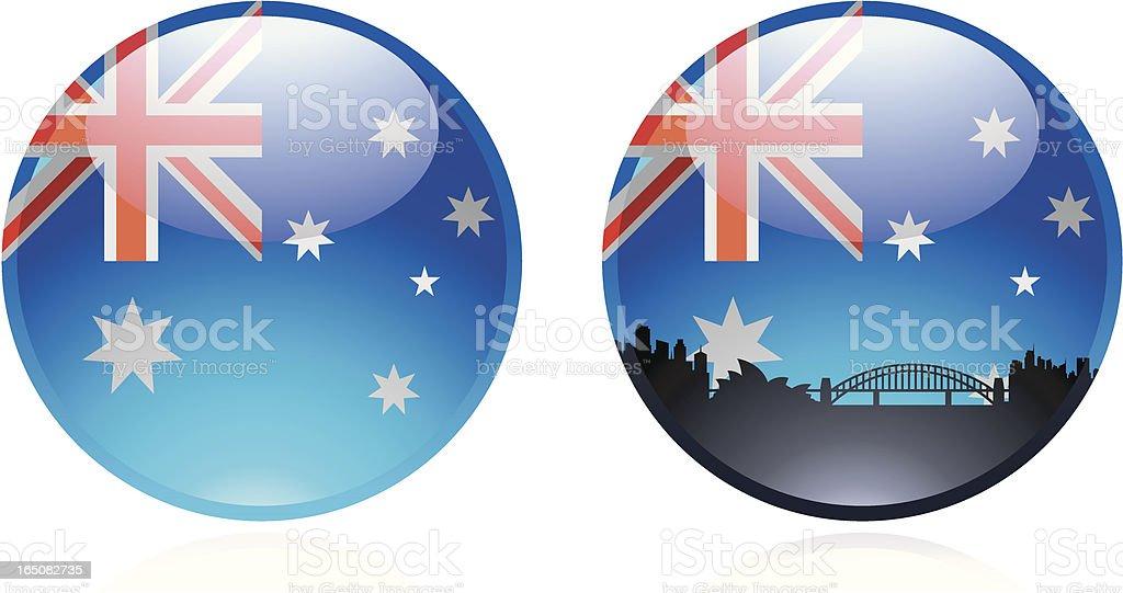 Australian Marble royalty-free stock vector art