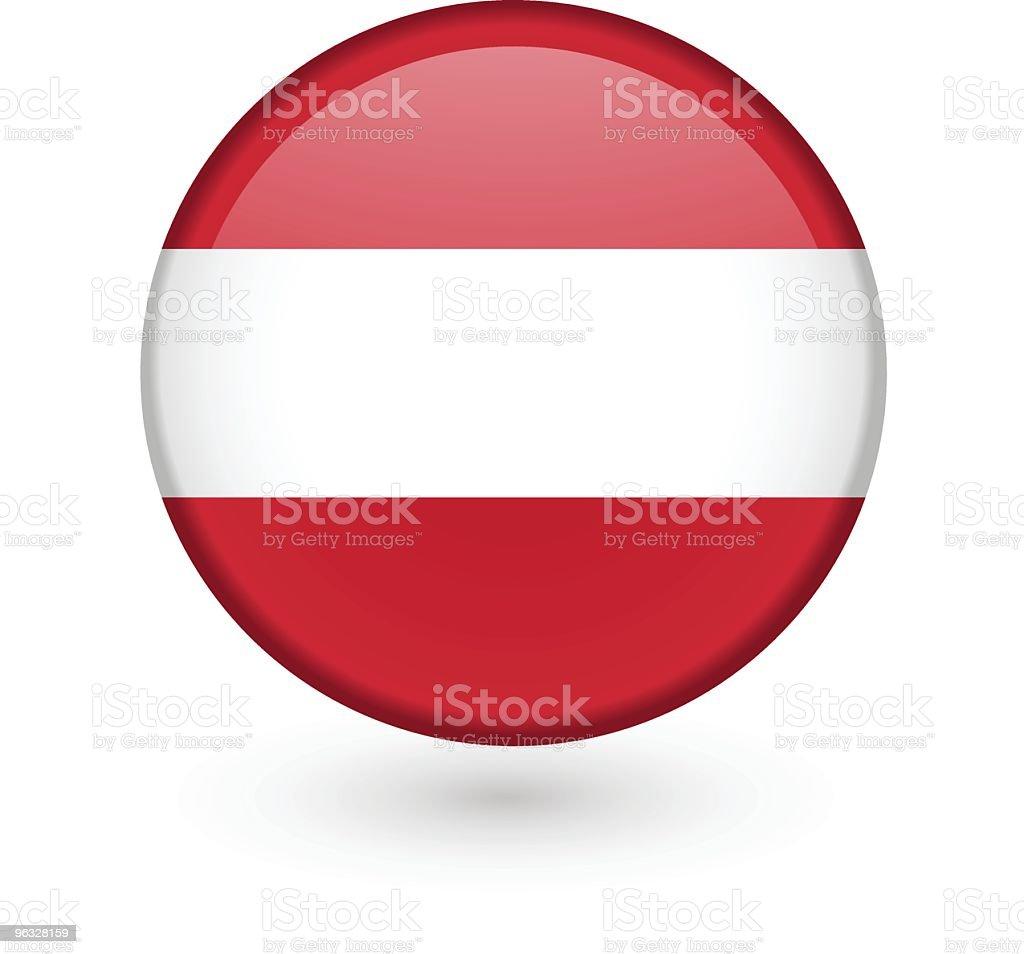 Austrian vector flag button royalty-free stock vector art