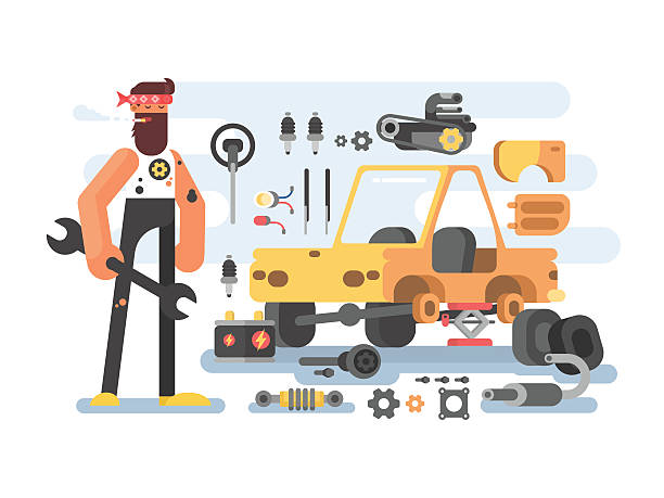 Auto Detailing Clip Art, Vector Images & Illustrations - iStock