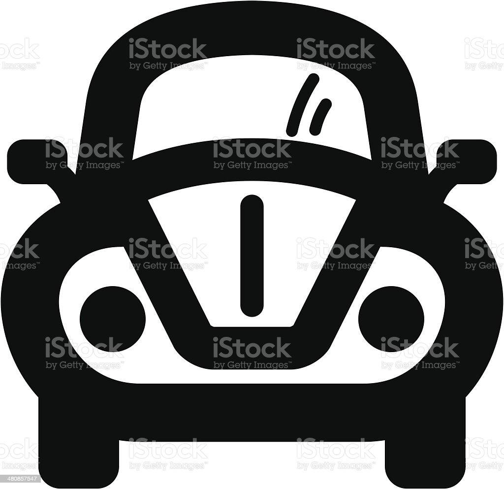 Auto icon vector art illustration