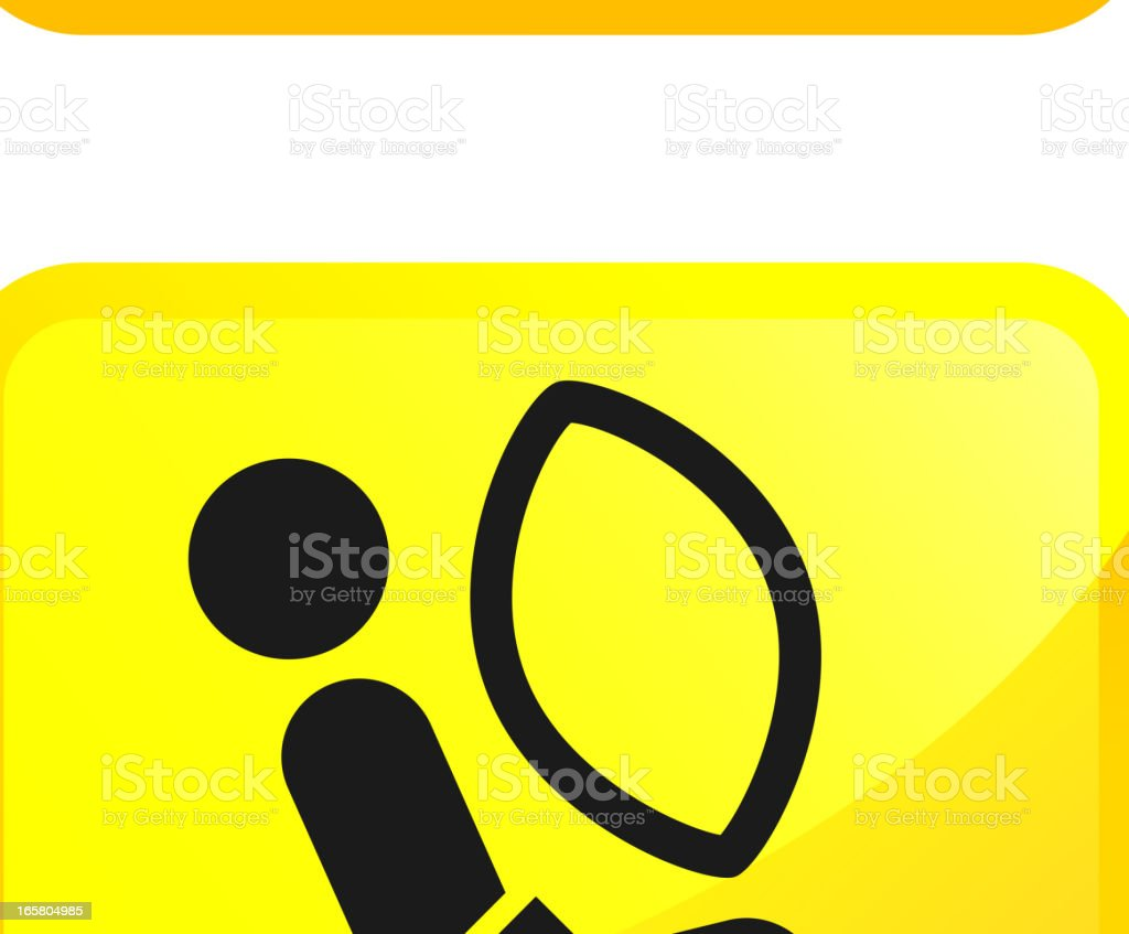 Auto Safety and Car Crash Test vector icon set stickers vector art illustration