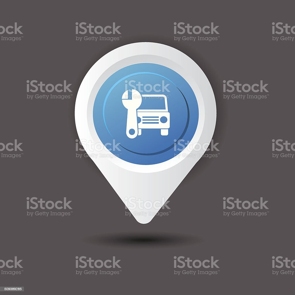 Auto sign,vector royalty-free stock vector art