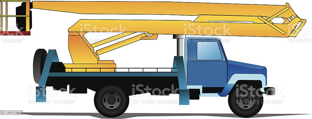 Autotower royalty-free stock vector art