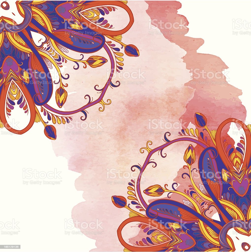 Autumn air royalty-free stock vector art