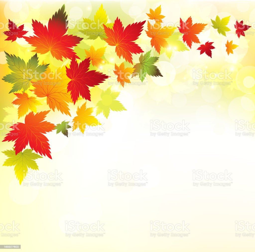 Autumn backgound royalty-free stock vector art