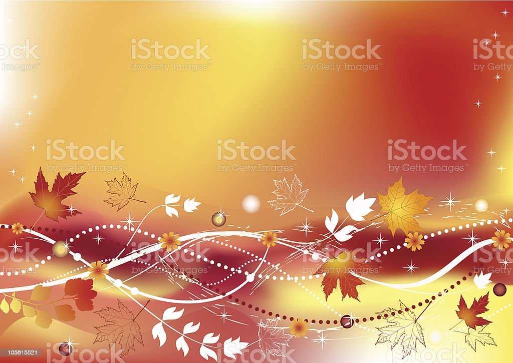 Autumn background. royalty-free stock vector art