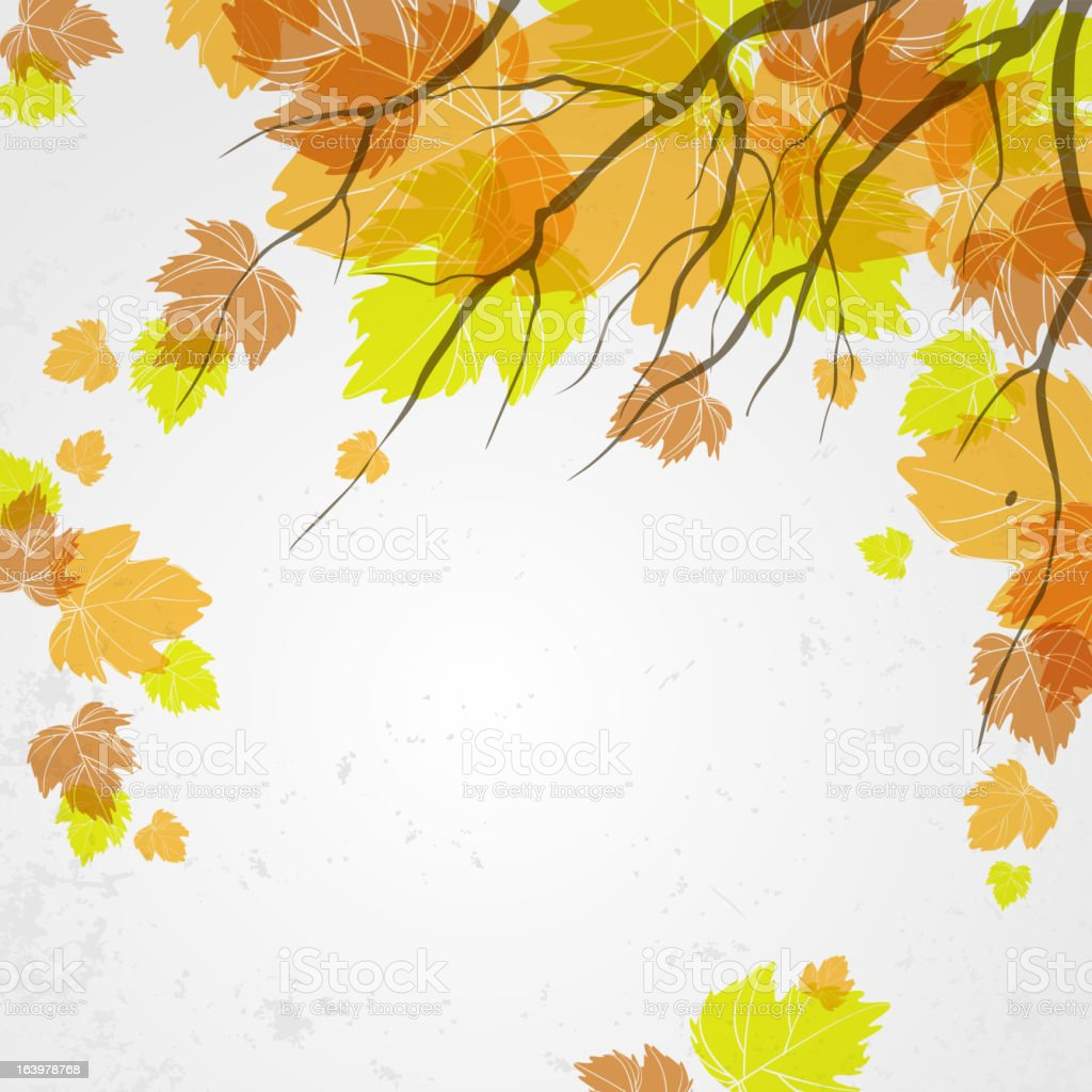 Autumn background. royalty-free stock vector art