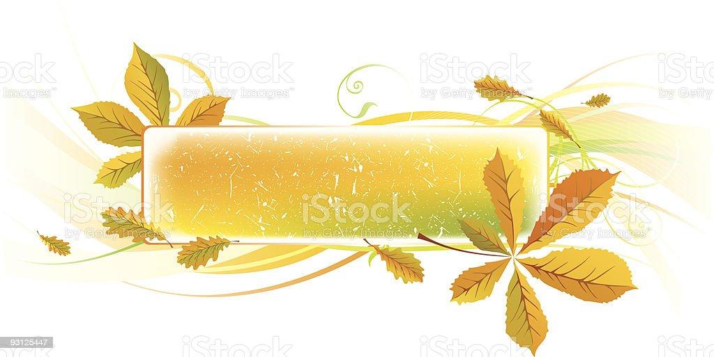 Autumn banner royalty-free stock vector art