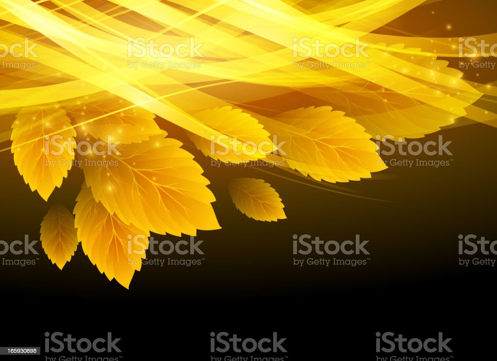 Autumn leaves background royalty-free stock vector art