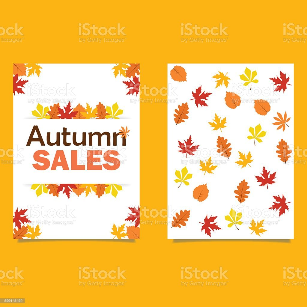 christmas postcards ideas about psd flyer on autumn flyer template lettering bright fall leaves stock for
