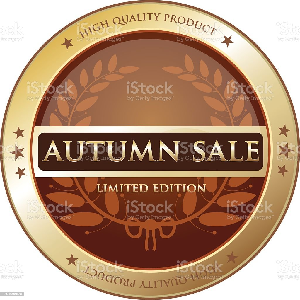 Gold label sale