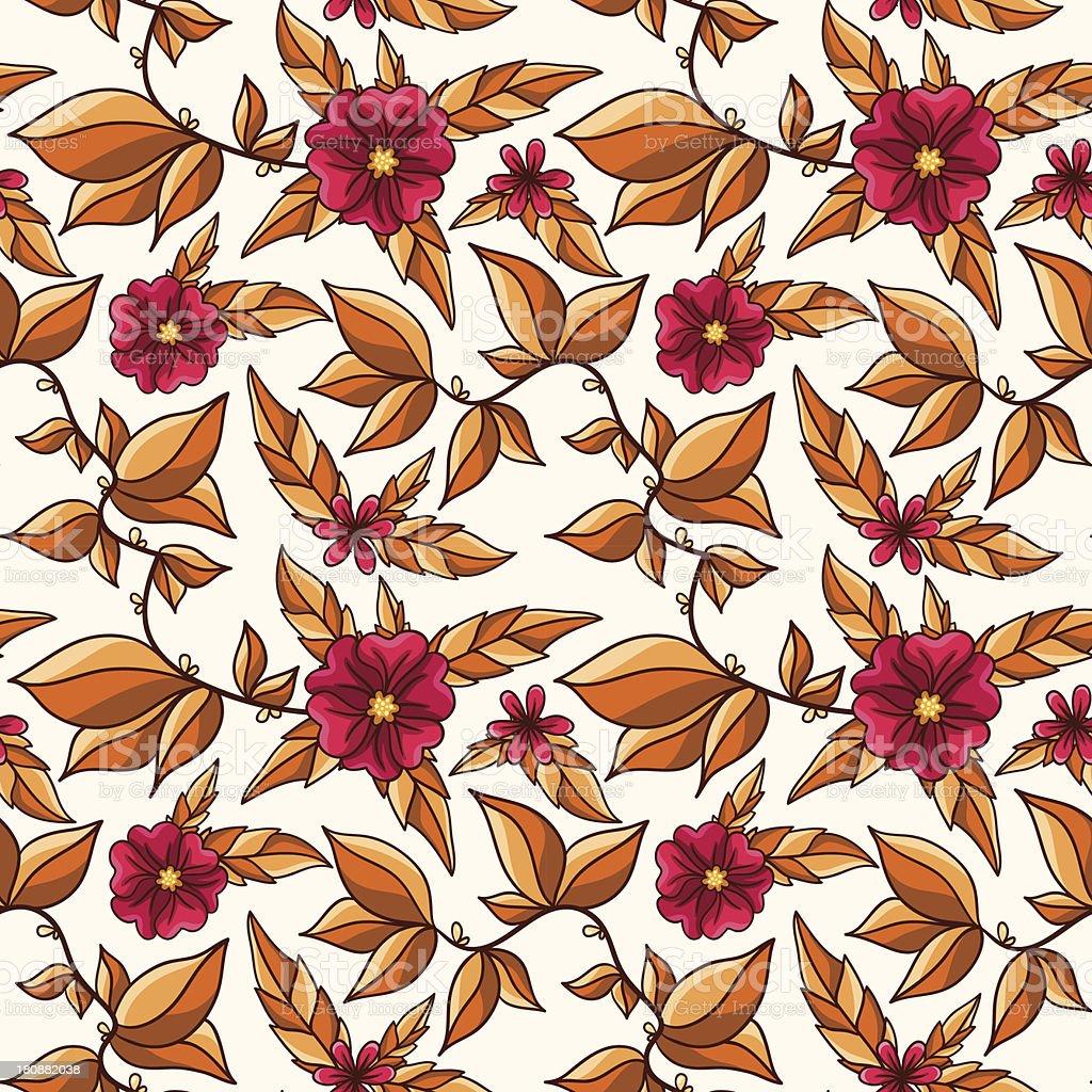 Autumn seamless pattern. royalty-free stock vector art