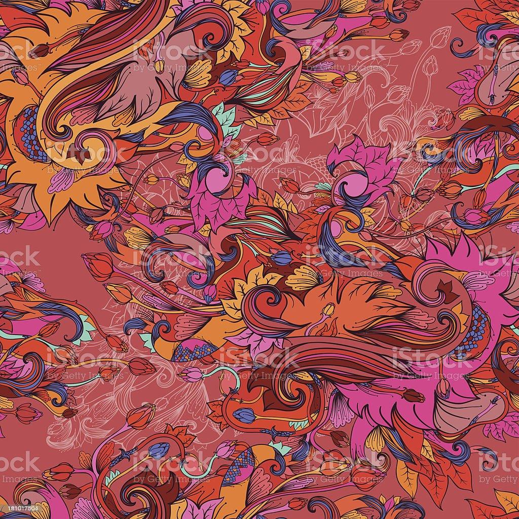 Autumn splash royalty-free stock vector art