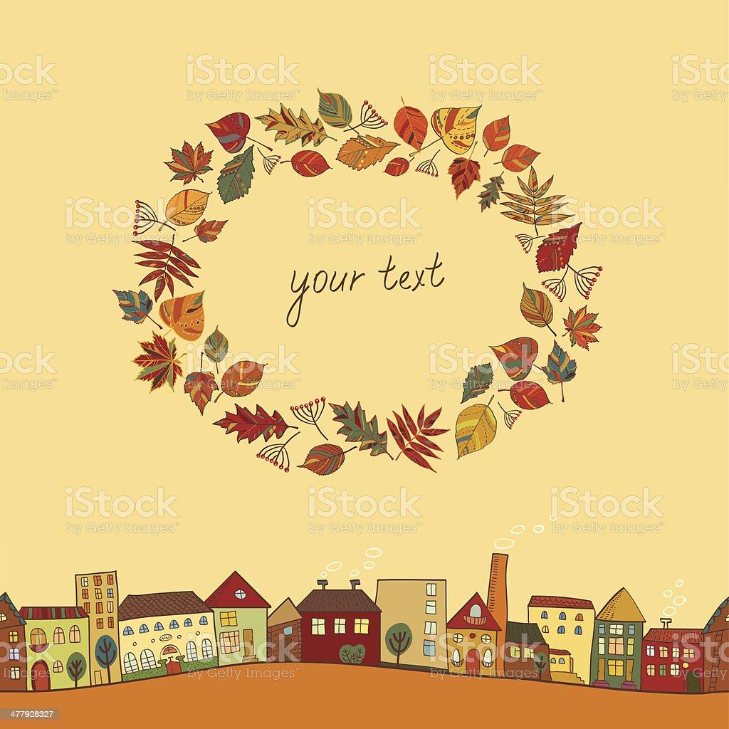 ?????/autumn royalty-free stock vector art