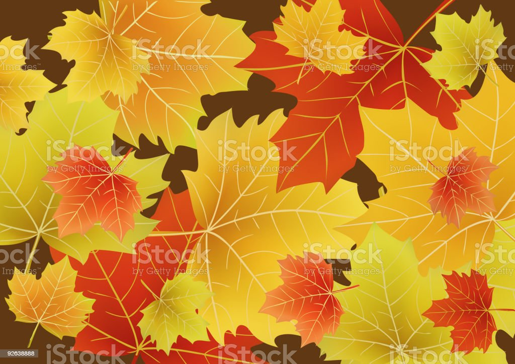 autumn royalty-free stock vector art