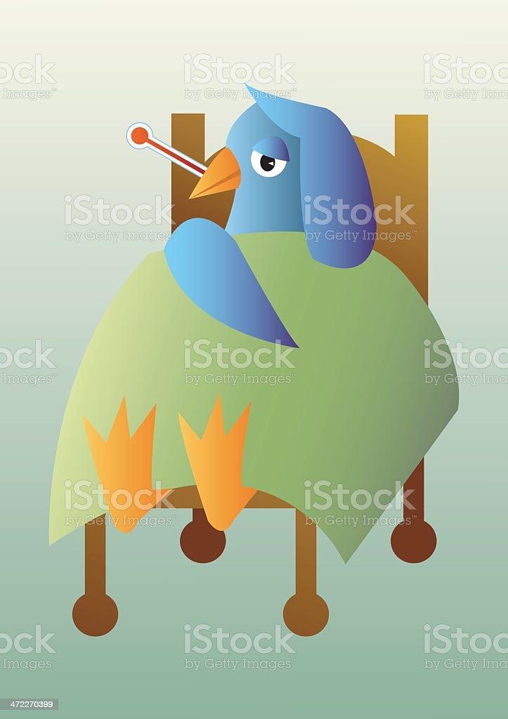 Avian Flu royalty-free stock vector art