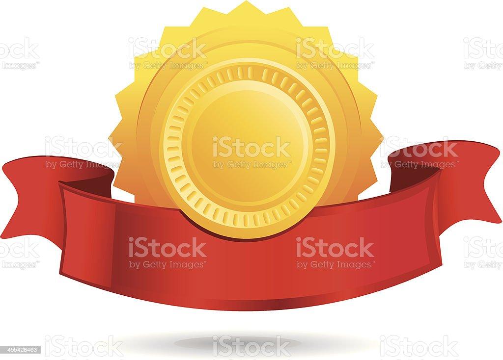 Award Icon royalty-free stock vector art
