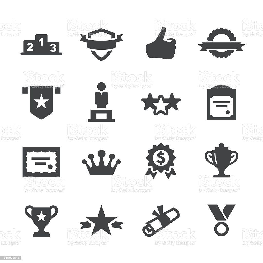Award Icons - Acme Series vector art illustration