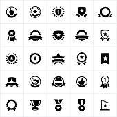 Award, Seals, Banners and Ribbons Icons