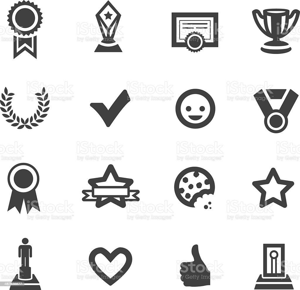 Awards & Prizes vector art illustration