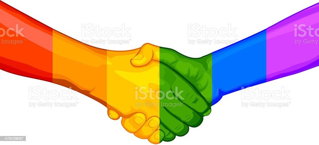 LGBT Awarness Concept royalty-free stock vector art
