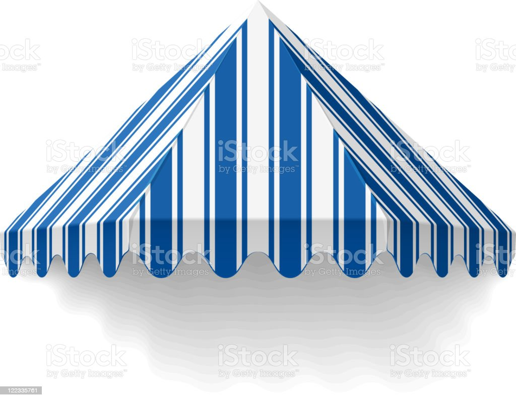 Awning royalty-free stock vector art