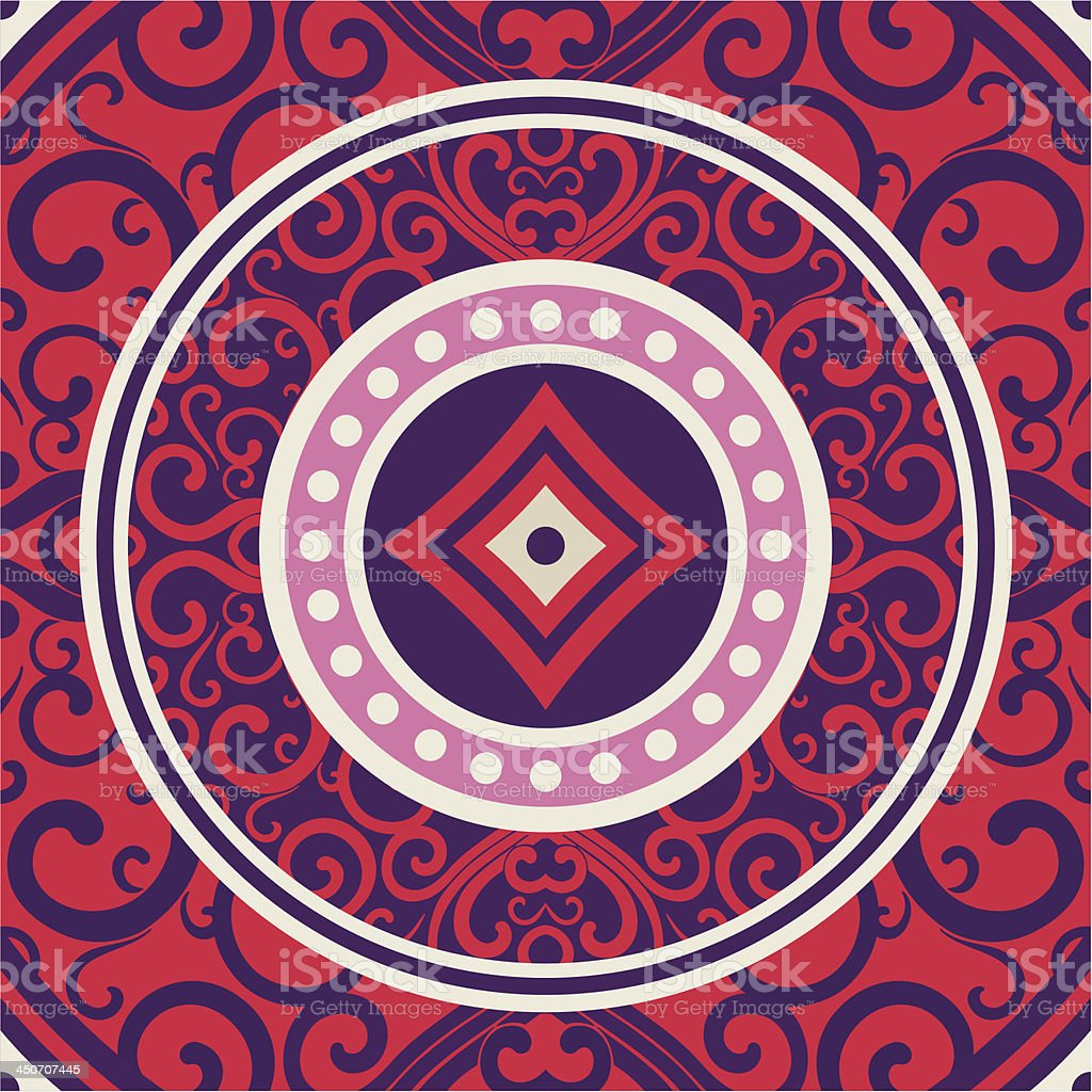 aztec pattern royalty-free stock vector art