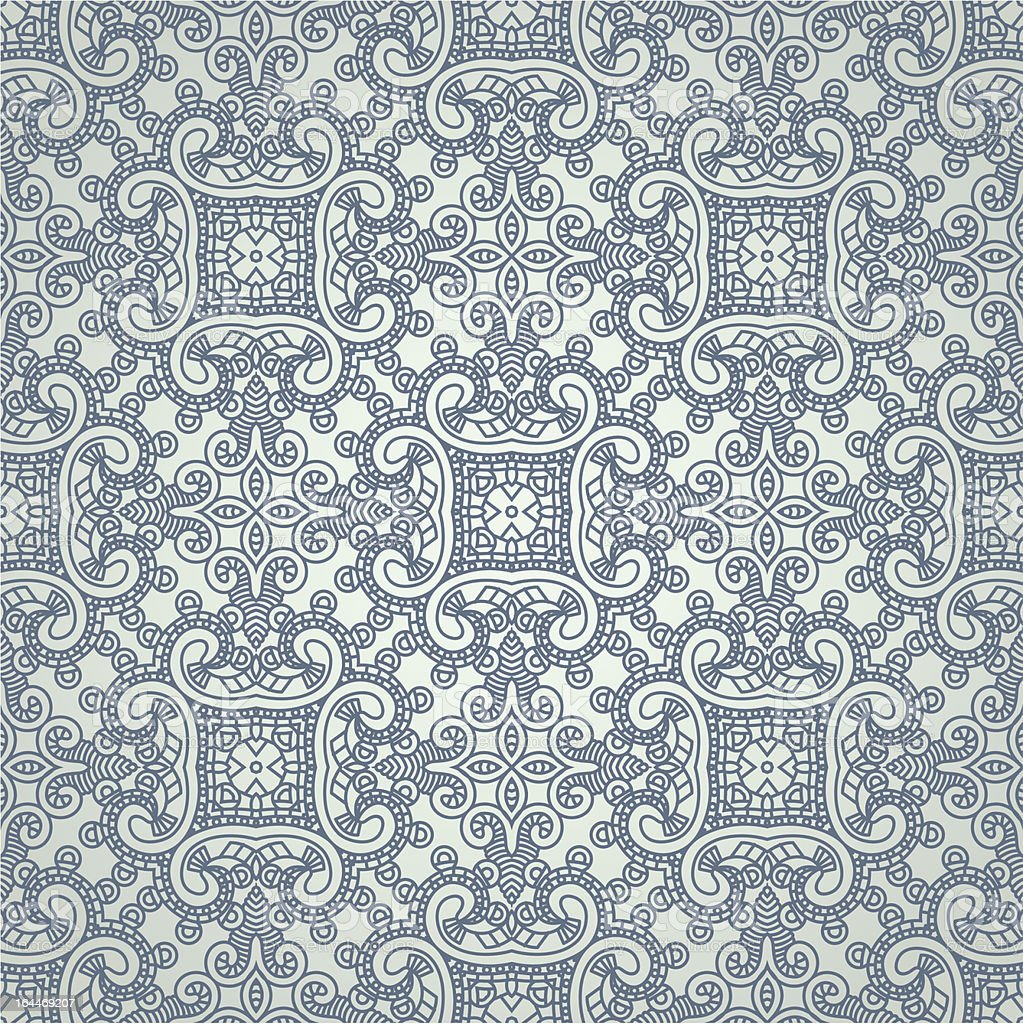 Aztec seamless background royalty-free stock vector art