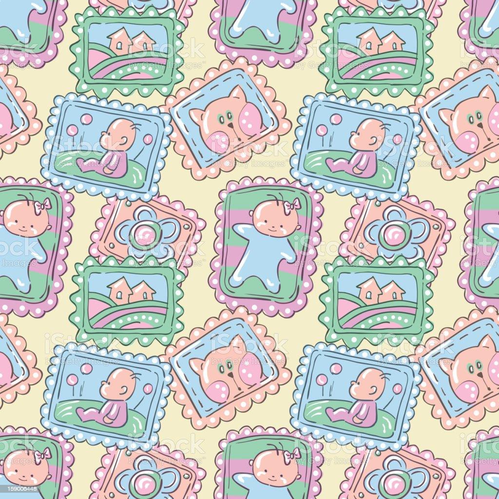 Babies. royalty-free stock vector art