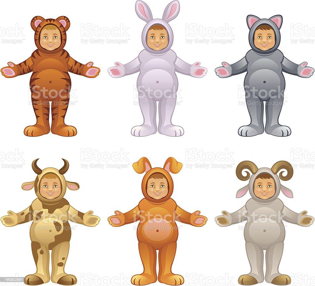 Baby animal royalty-free stock vector art