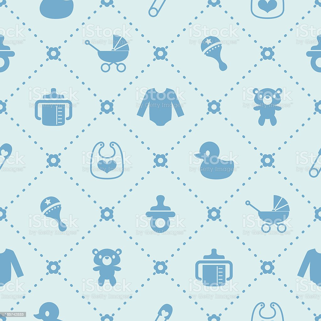 Baby Background vector art illustration