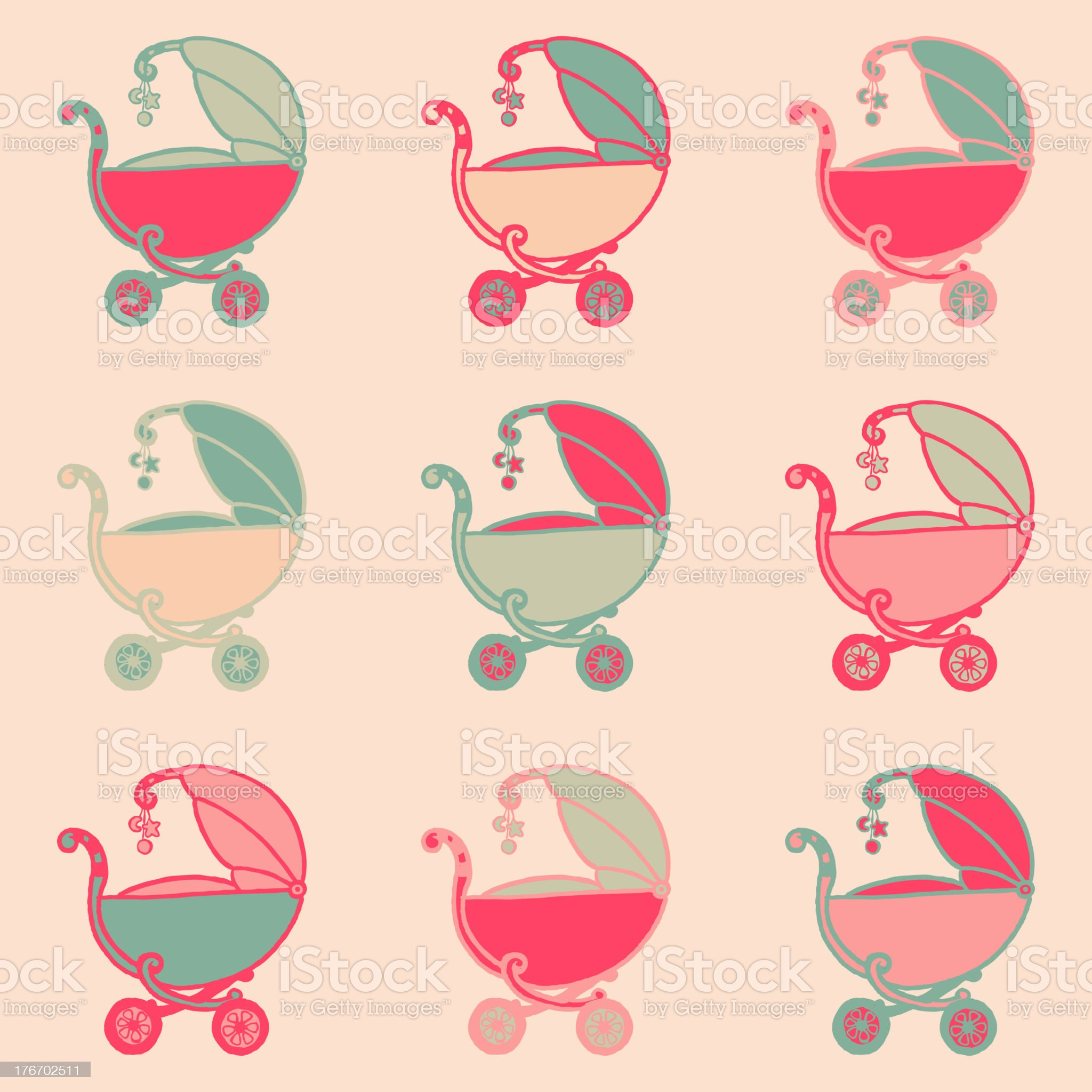 Baby Background royalty-free stock vector art